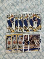 (10) Steph Curry (Warriors) 2020-21 Panini Donruss Franchise Features #10 Lot