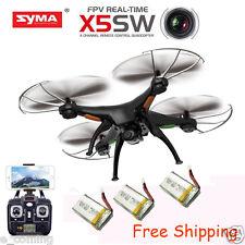 SYMA X5SW WiFi FPV 2,4Ghz 4CH RC Quadcóptero Dron 2MP Cámara alta definición