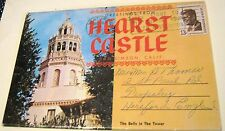 United States Hearst Castle Greetings set - posted 1967
