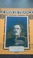 Rivista Il Paesi Di Francia Mattina N° 98 Parigi 1916 GAL Sir William Robertson