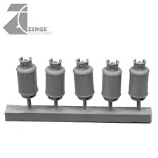 Zinge Industries Gas Canisters Cylinders or Propane Tanks Set of 5 S-GAS01 Bits