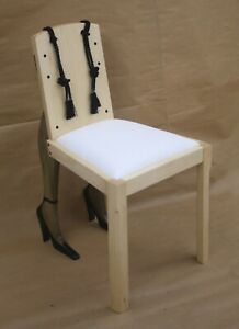 Designer bedroom chair, for the boudoir, dressing table, or the naughty room
