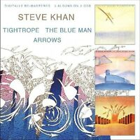 Steve Khan, Khanstev - Tightrope/Blue Man/Arrows [New CD] UK - Import
