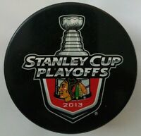 2013 CHICAGO BLACKHAWKS STANLEY CUP PLAYOFFS NHL OFFICIAL HOCKEY PUCK SLOVAKIA