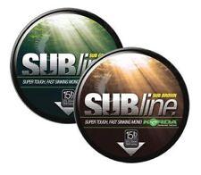 Korda Subline Super Tough Fast Sinking Mono Fishing Line 1000M 12lb Brown