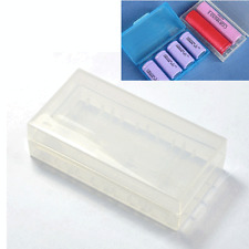 2X Hard Plastic Case Holder Storage Box for CR123A LIR123A 16340 18650 Battery