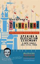 1955 Disneyland Opening Day Poster - Walt Disney Reagan Buy Any 2 Get 1 Free