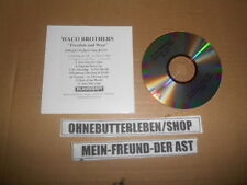 CD Pop Waco Brothers - Freedom And Weep (13 Song) Promo BLOODSHOT REC