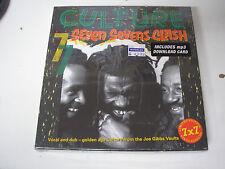 "Culture - Seven Sevens Clash 7 x 7"" box set new sealed reggae mp3 download code"
