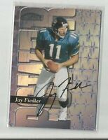 1999 Playoff Contenders SSD Power Blue #201 Jay Fiedler /50 Jaguars