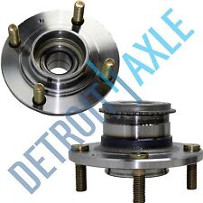 Pair: 2 New REAR Mitsubishi Lancer ABS Complete Wheel Hub and Bearing Assembly