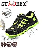 Chaussures de sécurité Hommes S3 SRC Chaussure de travail Bottes antidérapant