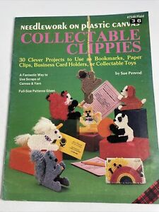 Plaid Leaflet 7549 Collectable Clippies Plastic Canvas Patterns