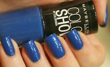 MAYBELLINE color show by colorama nail polish in 282 bold blue