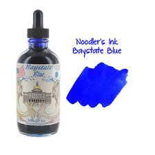 Noodler's Ink Bottled Ink w/ Eyedropper, 4.5 oz. w/ Free Pen - Baystate Blue