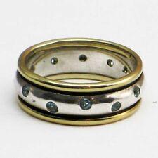 Handmade Topaz Sterling Silver Fine Rings