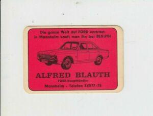 Taschenkalender 1970  FORD Blauth Mannheim Die ganze Welt auf Ford vertraut...