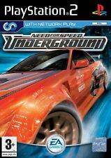 Need FOR SPEED: UNDERGROUND-PLAYSTATION 2 (PS2) - Regno Unito/PAL