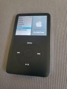 Apple iPod Classic 80GB Black 6th Generation