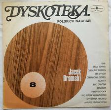 Dyskoteka Polskich Nagrań 8 (LP) Polish vinyl winyl 1975