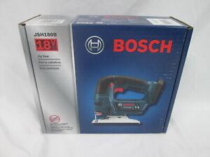 Brand New Sealed Bosch 18V Jig Saw JSH180B with LED light, Blue -Bare Tool