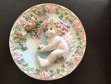 Dreamsicles Sculptural Plate - Heaven's Little Helper