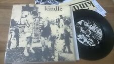 """7"""" Punk Kindle - Same / Untitled (2 Song) NO MORE HEROES REC"""