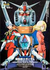 GUNDAM BIG BANG PROJECT Japanese B2 movie poster ANIME MANGA 1999