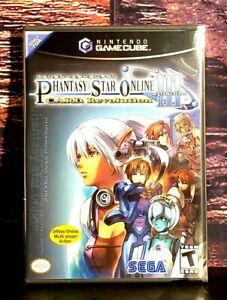 Phantasy Star Online Episode 3 C.A.R.D. Revolution Nintendo Gamecube NEW Sealed
