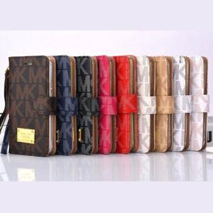 MK Luxury Fashion Wallet iPhoneX iPhone X Michael Kors flip cover  PU Leather