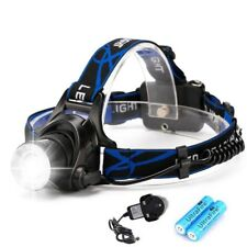 1200LM CREE XML T6 LED Head Torch Rechargeable Zoomable Headlamp Headlight Light