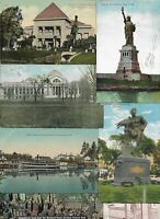 USA Goethe Monument Lincoln Park Chicago and more Postcard Lot of 30 01.02