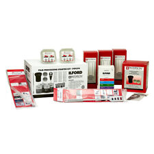 Ilford Paterson Film Processing Starter Kit with Chemicals, Developing Tank etc
