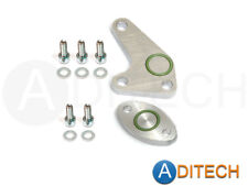 SAI Blockoff Plate Kit, Secondary Air Injection Delete for Audi 2.8 2.7T V6 30V