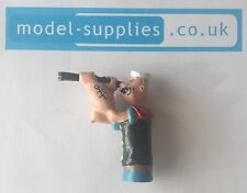 Corgi 802 Popeye Paddlewagon Reproduction Resin Painted Popeye Figure