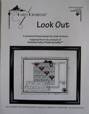 CALICO CROSSROADS: CAT LOOK OUT CROSS STITCH PATTERN