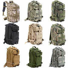 Military Tactical Rucksack Backpack Daypack Bag Hiking Camping Outdoor Sport US