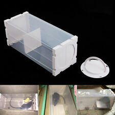 White Humane Rat Trap Capture Cage Animal Pest Rodent Mice Mouse Bait Catch Hot