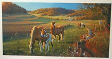 Michael Sieve God's Country Print Horses
