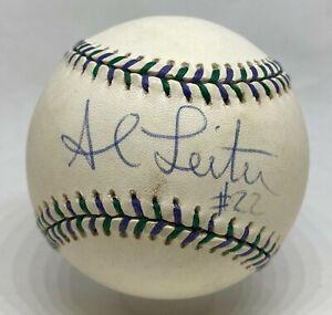 Al Leiter Single Signed 1998 All Star Game Baseball JSA COA New York Mets