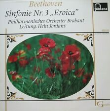 PHILHARMONISCHES ORCHESTER BRABANT - HEIN JORDANS - BEETHOVEN -  LP
