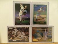 LOT OF 4 HIDEO NOMO insert parallel chrome UD3 cards LA Dodgers Los Angeles NM