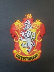 Harry Potter Gryffindor Crest Patch - FREE SHIPPING