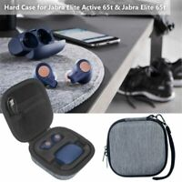 Tragetasche Hard Storage Case Bag + Haken für Jabra Elite Active 65t / Elite 65t
