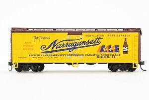 HO Athearn / Greenway Prod Narragansett Ale 40ft Steel Ice Refrigerator