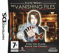 Cate West The Vanishing Files Ds