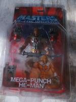 Masters of the Universe - Mega Punch He-Man - Motu - 2003 200x Moc Figure New