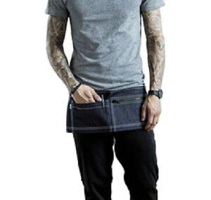 Sharp Chef Outfitter Denim Money Belt Apron 2 Pockets 1 with Zip