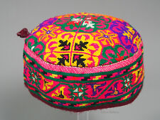 hand embroidered Women's Caps and Ceremonial Headdress Gilgit-Baltistan No:21/P