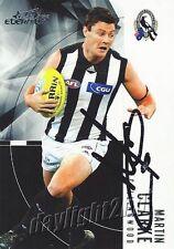 ✺Signed✺ 2012 COLLINGWOOD MAGPIES AFL Card MARTIN CLARKE